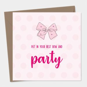 Pink Bow Birthday Party