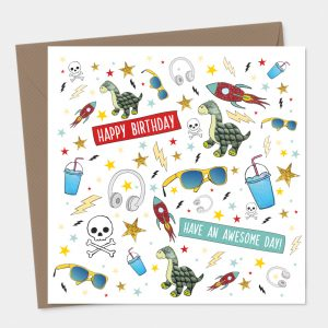 Boys Birthday Card