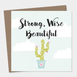 Strong and Wise Card